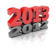 L'anno prossimo Immagini Stock Libere da Diritti