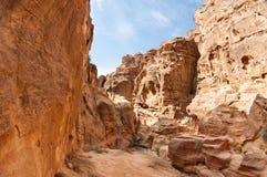 L'annonce-Deir de monastère, PETRA antique de ville de Nabataean, Jordanie Temple antique dans PETRA Photos stock