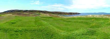 L`Anse aux Meadows, Newfoundland, Canada stock image