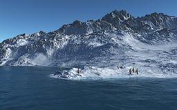 l'Antarctique Photos libres de droits