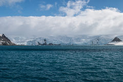 L'Antarctique et l'océan du sud Photos libres de droits