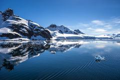L'Antarctique Landscape-8 Images libres de droits