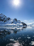L'Antarctique Landscape-11 Photo stock