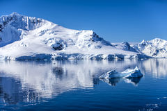 L'Antarctique Landscape-7 Photographie stock libre de droits