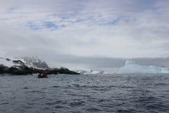 L'Antarctique - paysage Images libres de droits