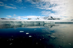 l'Antarctique pur Photographie stock libre de droits