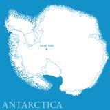 L'Antartide illustrazione vettoriale