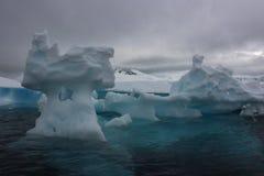L'Antartide - paesaggio Fotografie Stock
