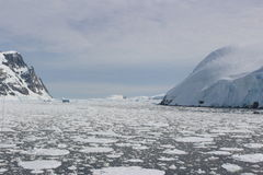 L'Antartide - paesaggio Fotografia Stock Libera da Diritti