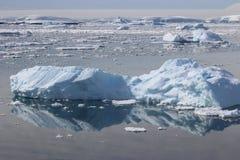 L'Antartide - paesaggio Fotografie Stock Libere da Diritti