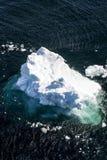 L'Antartide - pezzo di ghiaccio di galleggiamento Fotografie Stock
