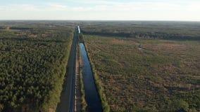 L'antenna di LIGO ha avanzato l'interferometro in Luisiana stock footage