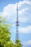 L'antenna di televisione più alta a Chisinau Fotografie Stock Libere da Diritti
