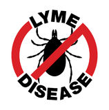 L'anti maladie de Lyme Tick Bite Icon Photo stock