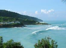 L'Antigua dopo la tempesta immagine stock