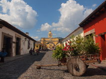 L'Antigua, Guatemala fotografie stock libere da diritti