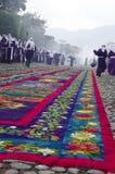 l'Antigua, Guatemala - Vendredi Saint Image stock