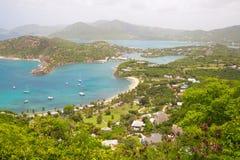 L'Antigua, isole dei Caraibi, porto inglese possa Immagini Stock Libere da Diritti