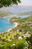 L'Antigua, isole dei Caraibi, porto inglese possa Fotografia Stock