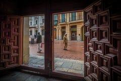 L'Antigua prende la cura del centro della Spagna Immagini Stock