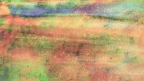 L'antiquité a peint le papier texturisé Courses de toner Fond texturisé sale Papier rustique Art épais d'éclaboussure de peinture illustration libre de droits