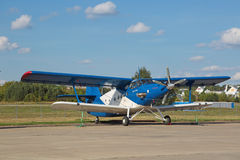 L'Antonov An-2 TVC-2MC Images libres de droits