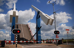 L'apertura del ponte Fotografia Stock Libera da Diritti