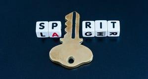 L'apertura dello spirito fotografia stock