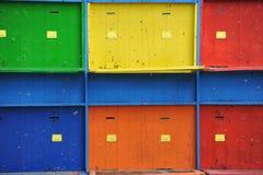 L'apiculture - ruches Photographie stock libre de droits