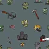 L'apocalisse dello zombie Fotografia Stock