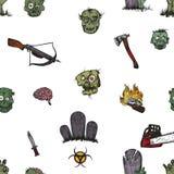 L'apocalisse dello zombie Immagini Stock