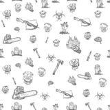 L'apocalypse de zombi Image libre de droits