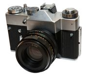 L'appareil-photo photos stock