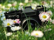 L'appareil-photo légendaire de zénith - ZENIT ET photo stock