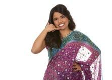 Femme indienne Photos stock