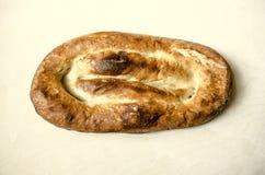L'appartement traditionnel de pain de l'Arménie durcit Matnakash Images stock