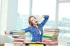 L'apprendimento lavora la mattina Immagini Stock