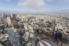 L'après-midi de Los Angeles opacifie l'antenne Images stock