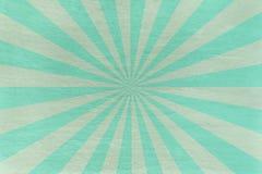 L'Aqua et la menthe slate le fond - avec le rétro starburst images libres de droits