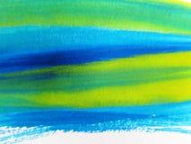 L'aquarelle abstraite a peint le fond illustration de vecteur