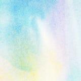 L'aquarelle peinte colorée abstraite légère éclabousse le fond Images stock