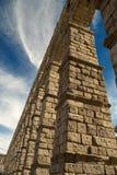 L'aqueduc de Segovia (Espagne) Image stock