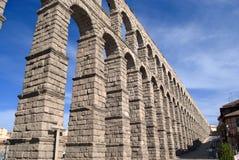 L'aqueduc de Segovia (Espagne) Photo libre de droits