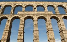 L'aqueduc de Segovia (Espagne) Photos stock