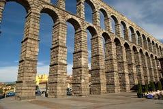 L'aqueduc de Segovia (Espagne) Image libre de droits
