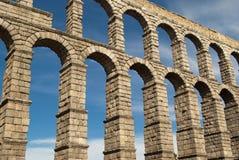 L'aqueduc de Segovia (Espagne) Photos libres de droits