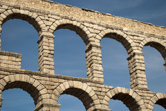 L'aqueduc de Segovia (Espagne) Photo stock