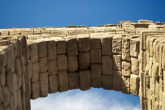 L'aqueduc de Segovia (Espagne) Photographie stock