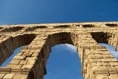 L'aqueduc de Segovia (Espagne) Images libres de droits