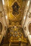 L'Aquila - орган в церков Сан Бернардино стоковое фото